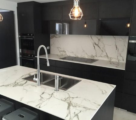 dekton is a long term product for those looking to turn their kitchen into unique space it allows greater potential installation in one piece with no countertop pricing